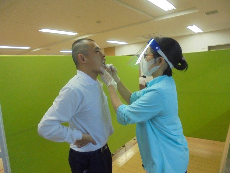 エンゼル歯磨き1